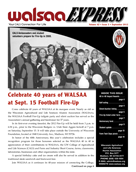 WALSAA Newsletter September 2012